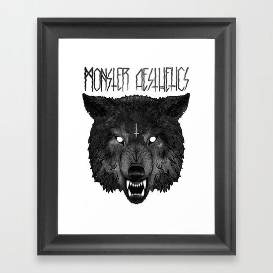 ‡ hell hound ‡  Framed Art Print