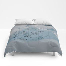 White peak - Landscape and Nature Photography Comforters