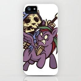 Death Apocalypse Horsecat iPhone Case