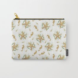Sea Pattern Carry-All Pouch