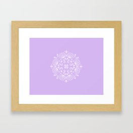 Lilac Mermaid Framed Art Print