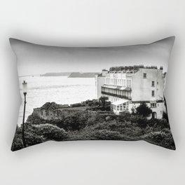 Tenby, Pembrokeshire, Wales Rectangular Pillow