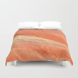 PAINTED HILLS - OREGON SUNSET Duvet Cover