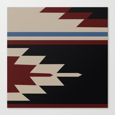 American Native Pattern No. 47 Canvas Print