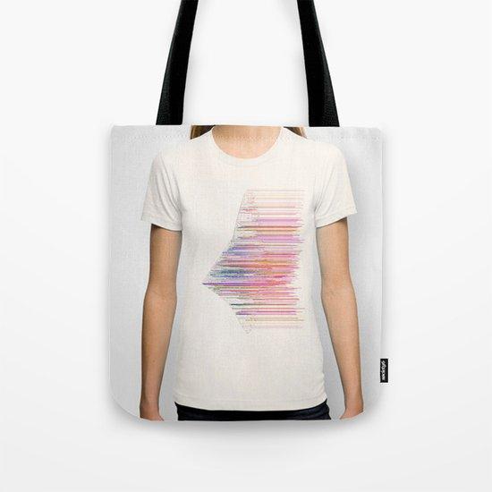 glitchship Tote Bag
