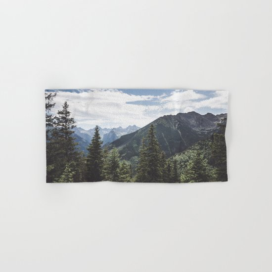 Tatra Mountains Hand & Bath Towel
