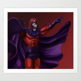 Magneto - Marvel Villain Series Art Print