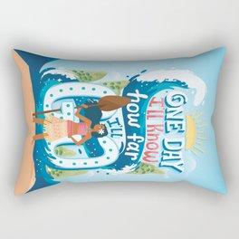 The ocean chose me Rectangular Pillow
