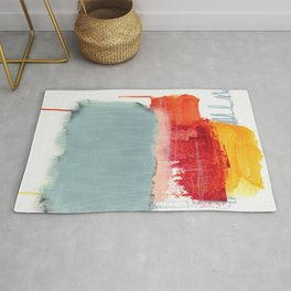layered color 2 Rug