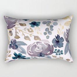 Fall Flowers and Berries  Rectangular Pillow