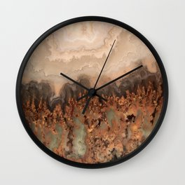 Idaho Gem Stone 21 Wall Clock