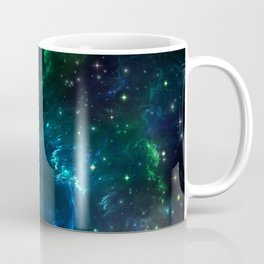 Nebula Blue Fractal Space 280715  Coffee Mug