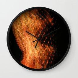 Doll Heart Wall Clock