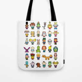90s Nicktoons Tote Bag