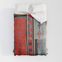Sivas  Antique Cappadocian Turkish Kilim Print Comforters