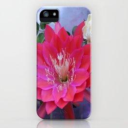 Roses Are White, Cactus is Rose... iPhone Case