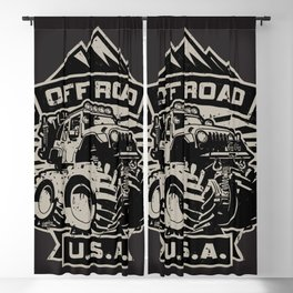 Off Road USA Blackout Curtain