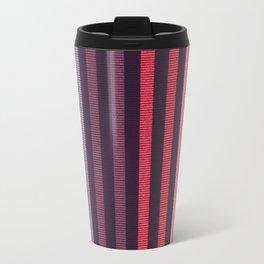 FUN STRIPES-COBALT CARMINE Travel Mug