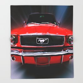 Mustang Sally Throw Blanket