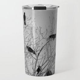 Murder Of Crows - Five Travel Mug