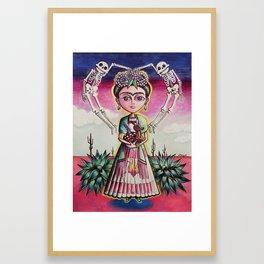 """""""Frida K."""" Framed Art Print"""