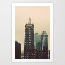 Carbide and Carbon Building Chicago Art Print