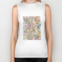 Abstract Artwork Colourful #7 Biker Tank