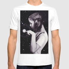 stars are delicate Mens Fitted Tee White MEDIUM