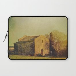 A cute small stone house without windows Laptop Sleeve