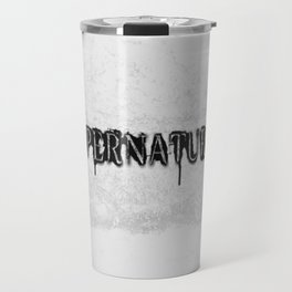 Supernatural monochrome Travel Mug
