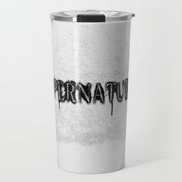Supernatural monochrome Travel Mug