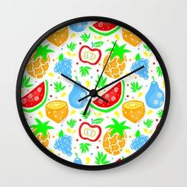 Fiesta de las Frutas Wall Clock
