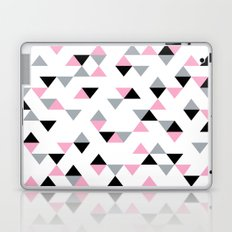 Triangles Black and Pink Laptop & iPad Skin
