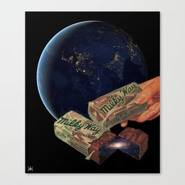 Try some space Canvas Print