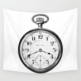 Pocket watch Wall Tapestry