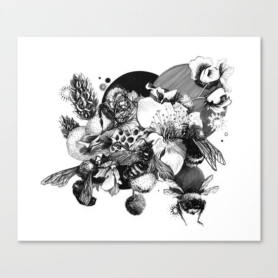 Busy Bee's Canvas Print