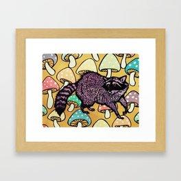 Not For Raccoons Framed Art Print
