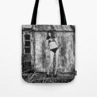 bikini Tote Bags featuring Black Bikini. by davehare