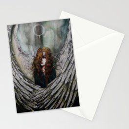 Angel in Despair Stationery Cards