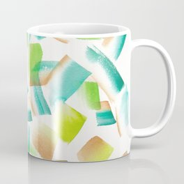 180719 Koh-I-Noor Watercolour Abstract 14| Watercolor Brush Strokes Coffee Mug