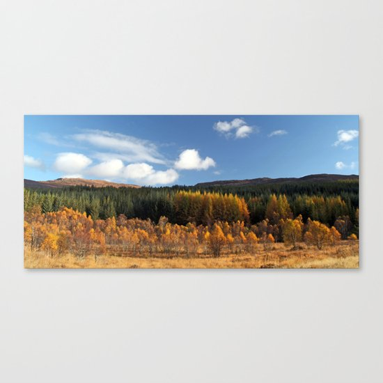 Had I the Heaven's embroidered cloths... Canvas Print