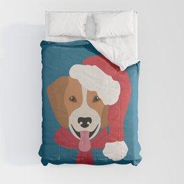 Beagle Christmas Dog Comforters