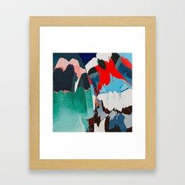 Just flip it around Framed Art Print