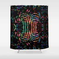 jungle Shower Curtains featuring Jungle by Marta Olga Klara