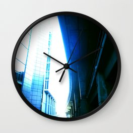 fly over london Wall Clock