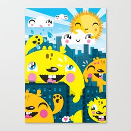 Monsters ( 2007 ) Canvas Print
