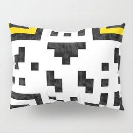 Owl QR code  Pillow Sham