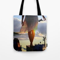 balance Tote Bags featuring Balance  by Alexander Jedermann