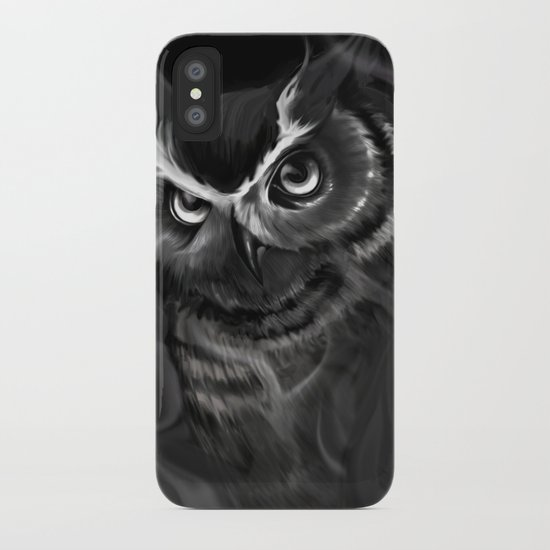 Owl Aflame iPhone Case