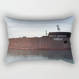 Paul R Tregurtha Rectangular Pillow